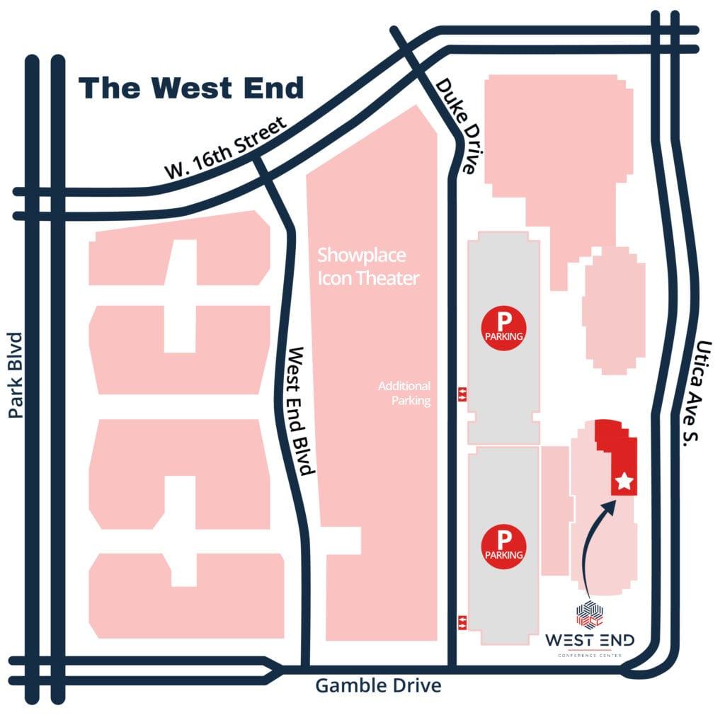 West End Map 1-blue